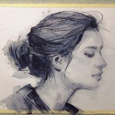 elfandiary #ink #water #color #pen #art #drawing
