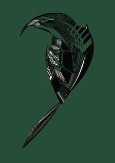 #birdie #bird #illustration #glitch #crow #artwork