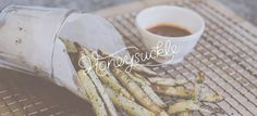 Honeysuckle Catering – Karli Ingersoll #logo #design #identity #type