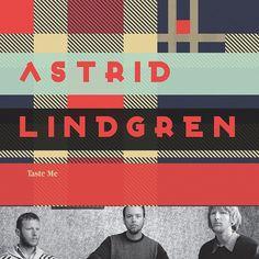 Astrid Lindgren - Taste Me / CD Package on the Behance Network