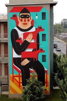 Street Art // Agostino Iacurci