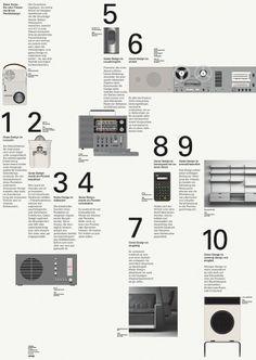Dieter Rams: Ten Principles | Bibliothèque Design #print