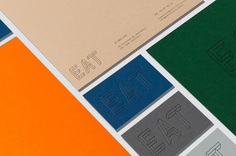 "Brand Identity for EAT Furniture by The Color Club ""EAT Furniture are a contemporary furniture retailer with a focus on classic and striking pieces at an affordable price tag. Looking to breathe new life into a tired business, EAT reimagined their..."