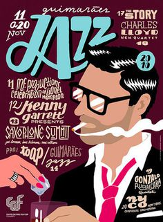 design work life xc2xbb 2010 Jazz Posters #drawn #hand #typography
