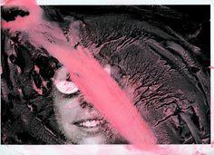 Tio - gis #water #chalk #media #mix media