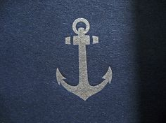 Anchor Tea Length Wedding Invitation | Flickr - Photo Sharing! #anchor #letterpress