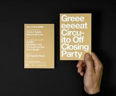 Ninth Circuito Off — Tankboys #print #typography