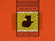 Montes_product_of #vintage #packaging #chocolate #guatemala