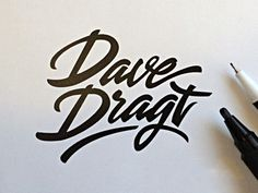 30 Beautifully Hand Drawn Typography Logos by Paul Von Excite