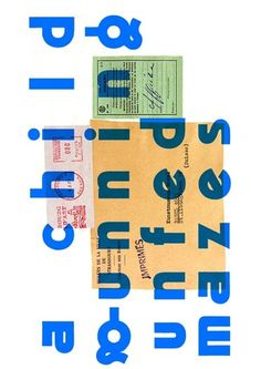 pablo berger - typo/graphic posters #typography