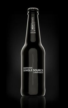 Monteith's Single Source - TheDieline.com - Package Design Blog #packaging #beer