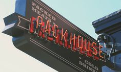 Packhouse Banner #sign #packhouse