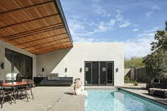 pool, Desert House in Phoenix, Arizona, The Ranch Mine