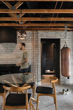 dining room, loft design, Tempe, Arizona, Knob Modern Design 4