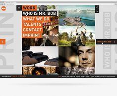 Interaction Design / Mr. Bob Films on the Behance Network #direction #design #interface #art