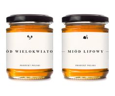 LeÅ›na Pasieka #pack #design #honey