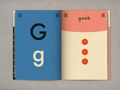 Letter gHungarian alphabet book available for any design enthusiast on Blurb! #european