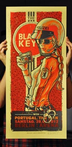 GigPosters.com - Black Keys, The - Portugal. The Man #black #poster #keys