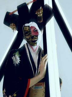 'Robot Geisha' From The Movie 'Ghost in the Shell' by Termsit Siriphanich