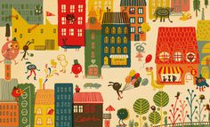 ARHOJ > Lejerbo #city #illustration