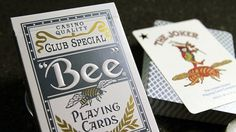Bee Titanium Edition Playing Cards - theory11.com #bee #cards #playing