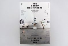 The Other Hemisphere   COÖP #sculpture #modern #installation #poster #typography