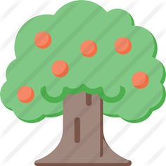 See more icon inspiration related to farming and gardening, apple tree, botanical, ecology, tree, nature and apple on Flaticon.