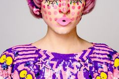 Romance Was Born 'Magic Mushroom' MBFWA 2013 #pattern #look #makeup #book #photography #fashion