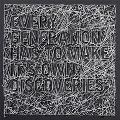 Typography BY MARTIN PYPER – Typography inspiration on MONOmoda #black #typography