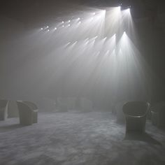 Twilight by Tokujin Yoshioka for Moroso #yoshioka #installation #furniture #tokujin #art #lighting