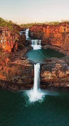 Devil's Punchbowl Falls in Arthur's Pass National Park, New Zealand