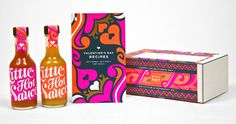 LittleCo_Valentine_03 #sauce #packaging #little #hot #typography