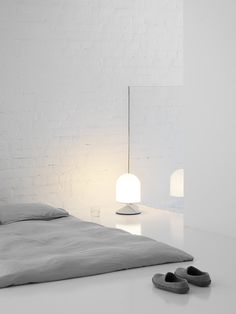 White sleeping space. #bedroom #simplicity