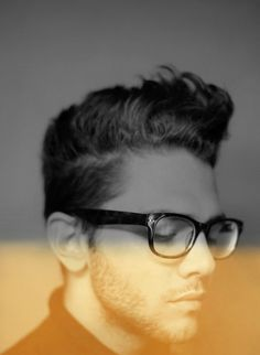 Pinterest #glasses #bot #actor #depth #director #hair #man #bw
