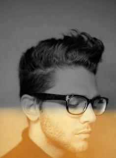 Pinterest #glasses #xavierdolan #bot #actor #depth #director #hair #man #bw