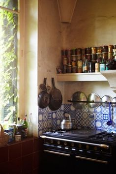a rustic country kitchen | the style files #interior #rustic #kitchen #design