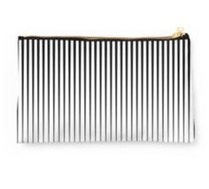 Comb Lines zip bag