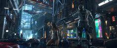 Cyberpunk 2077 on Behance #cg #image #vfx #cyberpunk #platige