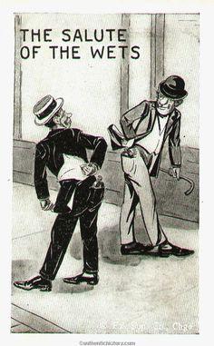 Prohibition #beer #cartoon #vintage #prohibition