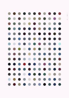 Color palette of Reykjavík #design #graphic #pattern #polka