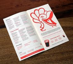 If this Chicken's a Kickin' don't Come a Cluckin' - Brand New #print #identity #menu #illustration