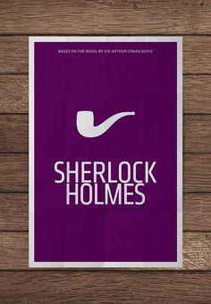 Sherlock Holmes Minimalist Poster