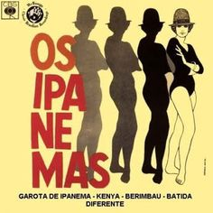 Os Ipanemas #brazil #design #graphic #vintage