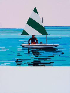 Guy Yanai   PICDIT #design #art #painting
