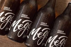Garrafas #beer #beverage #cerveja #packaging #cerveza #megalodesign #megalobeer
