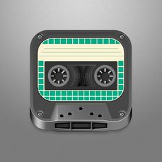 Big_tape #icon #design #iphone #app #mobile #device
