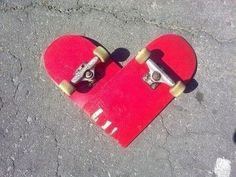How is your heart doing today? Winning #heart #skateboard