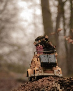 Amazing Miniature Scenes With Toy Cars by Nihan Tezer