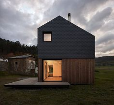 Modern Modular House Assembled in a Factory and Installed in Asturias, Spain 3