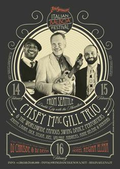 #poster #vintage #retro #lindyhop #swing #balboa #caseymcgill #micheletenaglia
